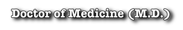 Distance Education MD degree, online doctor of medicine degree, USA style medical school, 3 year online MD degree program