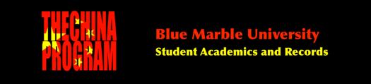 Blue Marble University Chinese Language Program